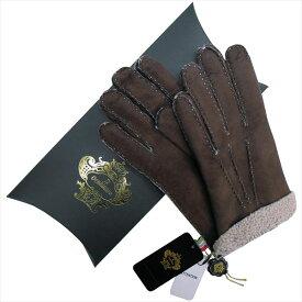 OROBIANCO オロビアンコ メンズ手袋 ORM-1409 Leather glove 羊革 DARKBROWN BEIGE サイズ:8.5(24cm) プレゼント クリスマス【送料無料】