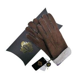 OROBIANCO オロビアンコ メンズ手袋 ORM-1410 Leather glove 羊革 DARKBROWN LAVENDER サイズ:8(23cm) プレゼント クリスマス【送料無料】