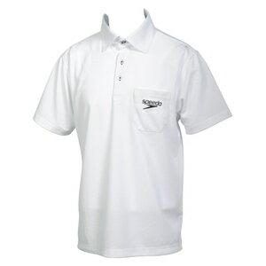 スピード(speedo) メンズ ポロシャツ SD14S01 ホワイト W