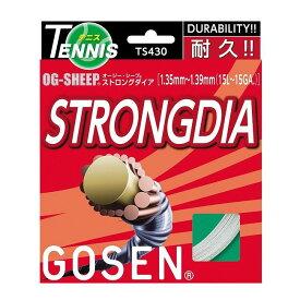 GOSEN(ゴーセン) OGS STRONGDIA ホワイト TS430W【S1】