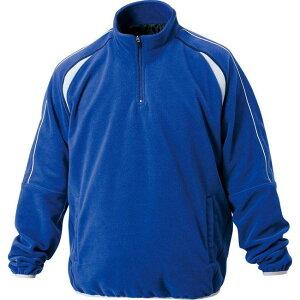 ZETT(ゼット) フリースジャケット(裏タフタ付) BOF110A 【カラー】ロイヤルブルー 【サイズ】2XO
