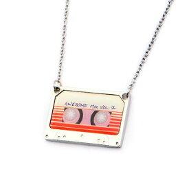 マーベル ガーディアンズ・オブ・ギャラクシー カセットテープ型ネックレス Awesome Mix Vol.2 MARVEL GOTG アメコミ アクセサリー アベンジャーズ グッズ 【BodyVibe】