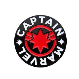 マーベル キャプテン・マーベル ロゴ ラペルピン MARVEL アメコミ アクセサリー アベンジャーズ グッズ 【BodyVibe】