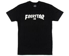 FOURSTAR HIGHSPEED TEE ハイスピード Tシャツ ブラック フォースター