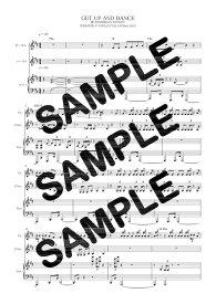 【ダウンロード楽譜】 GET UP AND DANCE/DOBERMAN INFINITY(ピアノ弾き語り譜 初級1)
