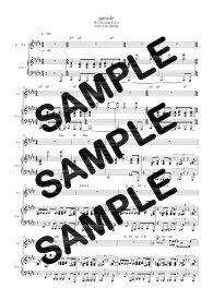 【ダウンロード楽譜】 parade/Official髭男dism(ピアノ弾き語り譜 初級1)