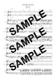 【ダウンロード楽譜】 BURNING DANCE/m.o.v.e(ピアノ弾き語り譜 初級2)