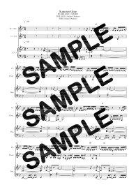 【ダウンロード楽譜】 Summertime/RIRI,KEIJU,小袋成彬(ピアノ弾き語り譜 初級1)