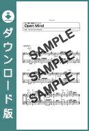 【ダウンロード楽譜】 Open Mind/(ギターソロ譜譜 中級2)