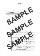 【ダウンロード楽譜】 OUTSIDER/RED WARRIORS(バンドスコア譜 中級2)
