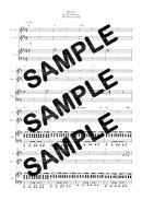 【ダウンロード楽譜】 カノン/ART-SCHOOL(ピアノ弾き語り譜 初級1)