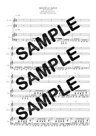 【ダウンロード楽譜】 SHUFFLE DAYZ/SOUL'd OUT(ピアノ弾き語り譜 初級1)