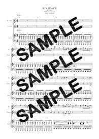 【ダウンロード楽譜】 SUN DANCE/Aimer(ピアノ弾き語り譜 初級1)