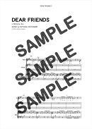 【ダウンロード楽譜】 DEAR FRIENDS/PERSONZ(バンドスコア譜 中級2)