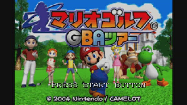 [Wii U] マリオゴルフ GBAツアー (ダウンロード版)