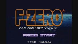 [Wii U] F-ZERO FOR GAMEBOY ADVANCE (ダウンロード版) ※100ポイントまでご利用可