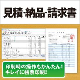 見積・納品・請求書6 DL版 / 販売元:株式会社アイアールティ