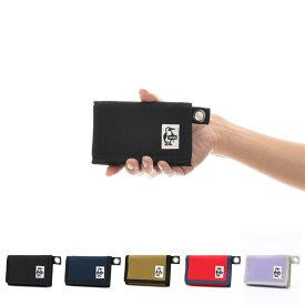 チャムス CHUMS 財布 二つ折り財布 三つ折り財布 エコスモールウォレット メンズ レディース コインケース 小銭入れ ワレット ミニ コンパクト ブランド ブラック 黒 コーデュラ CH60-0852 チャムス CHUMS