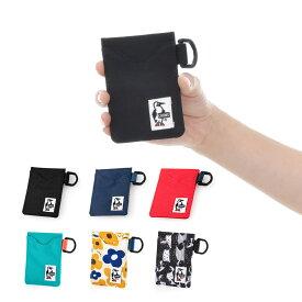 チャムス CHUMS ポーチ エコパスケース カードケース 定期入れ 小物入れ メンズ レディース キッズ 通勤 通学 ブランド ブラック 黒 子供 素材 アウトドア コーデュラ CH60-2487 チャムス CHUMS