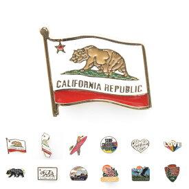 ライフ イズ アート Life is ART ピンバッジ カリフォルニア ピンズ おしゃれ アメリカ ピンバッチ スーツピンバッチ ラペルピン メンズ レディース ピンブローチ カリフォルニアフラッグ グリズリー ベア ベアー ピンバチ ピンバジ
