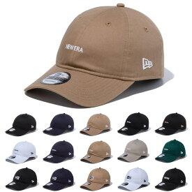 ニューエラ new era NEWERA キャップ CAP 9THIRTY クロスストラップ ミニロゴ ロゴ 930 メンズ レディース キッズ ブランド アジャスター サイズ調整可能 ベースボールキャップ 野球帽 帽子 カーブバイザー シンプル ベージュ ニューエラ new era NEWERA