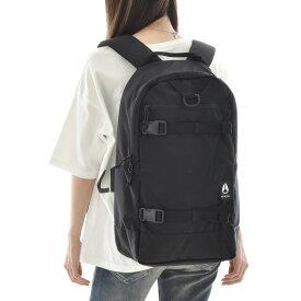 NIXON ニクソン バッグ リュック ランサック バックパック デイパック ザック メンズ レディース キッズ 通勤 通学 アウトドア サーフィン スケートボード 旅行 大容量 26L 黒 ブラック A4 Ransack Backpack C3025