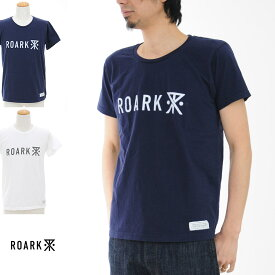 【20周年記念セール開催中】ロアーク リバイバル ROARK REVIVAL Tシャツ ロゴ Tシャツ RTJ204【プリントTシャツ TEE】【カリフォルニア ストリート スケーター】SALE メンズ