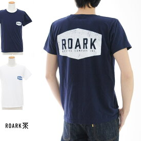 【20周年記念セール開催中】ロアーク リバイバル ROARK REVIVAL Tシャツ PLAQUE Tシャツ RTJ207【プリントTシャツ TEE】【カリフォルニア ストリート スケーター】SALE メンズ