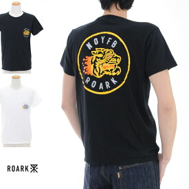 【増税前キャンペーン】【20%OFFセール】ロアーク リバイバル ROARK REVIVAL Tシャツ NOYFB Tシャツ RTJ208【プリントTシャツ TEE】【カリフォルニア ストリート スケーター】SALE メンズ