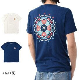 【20周年記念セール開催中】ロアーク リバイバル ROARK REVIVAL 半袖Tシャツ GENO'S MANDALA Tシャツ RTJ304【TEE】【カリフォルニア ストリート スケーター】 メンズ