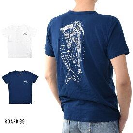 【20周年記念セール開催中】ロアーク リバイバル ROARK REVIVAL 半袖Tシャツ DEATH MAID Tシャツ RTJ334【プリントTシャツ ロゴ TEE】【カリフォルニア ストリート スケーター】 メンズ