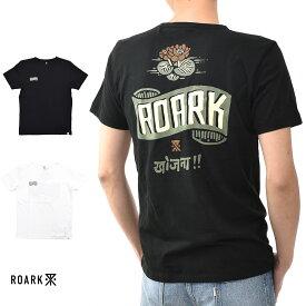 【20周年記念セール開催中】ロアーク リバイバル ROARK REVIVAL 半袖Tシャツ KUMARS TUK TUK Tシャツ RTJ338【プリントTシャツ ロゴ TEE】【カリフォルニア ストリート スケーター】 メンズ