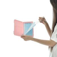 マスクケーススリムマスクケースSlimMaskCaseマスク収納マスクボックスマスク携帯ケース衛生的清潔外出外出時外食時通勤通学ビジネスアウトドアスポーツ携帯持ち歩き収納プラスチック製デコデコレーションカスタマイズ