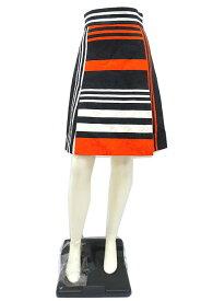 【中古】【新古品】DOLCE&GABBANA ドルチェアンドガッバーナ スカート 秋冬 膝丈 フレアー 小さいサイズ