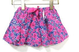 【新古品】【未使用】OSHKOSH オシュコシュ 子供服 キッズ スカート 花柄 ピンク サイズ3T 女の子 オールシーズン