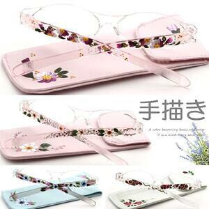 老眼鏡 おしゃれ \ハンドペイント作品/ 女性 ラッピング 日本で1枚1枚職人が絵を描いた老眼鏡 コンパクト レディース 眼鏡 シニアグラス リーディンググラス Reading Glasses 女性用 ケース付