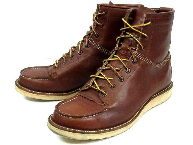 ダブルアールエル RRL キャニオン ブーツ レザー 靴 7396 ブラウン 茶 10D メンズ 【中古】【ベクトル 古着】 170104 古着 買取&販売 ベクトルイズム