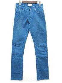ザラマン ZARA MAN デニムパンツ スリム ストレート 青 ブルー 30 メンズ 【中古】【ベクトル 古着】 190228 古着 買取&販売 ベクトルイズム