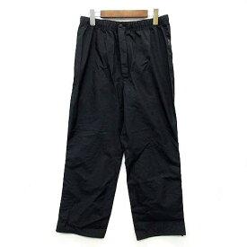 【中古】サウスフィールド SOUTH FIELD アルペン レインウェア パンツ 裾ジップ 撥水 ブラック 黒 L アウトドア メンズ 【ベクトル 古着】 200804 ベクトルイズム