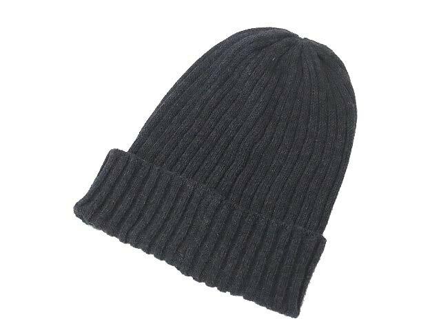 無印良品 良品計画 シンプル ニット帽 ニットキャップ ビーニー 帽子 56-59cm グレー メンズ レディース 【中古】【ベクトル 古着】 190105 古着 買取&販売 ベクトルイズム