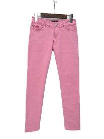 【中古】UNTITLED アンタイトル シンプル クロップド カラー パンツ 1 ピンク レディース 【ベクトル 古着】 191210 ベクトルイズム