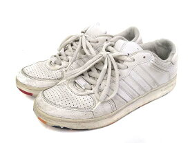 【中古】adidas アディダス G30723 Holcombe ホルコム スニーカー 28cm ホワイト メンズ 【ベクトル 古着】 191213 ベクトルイズム