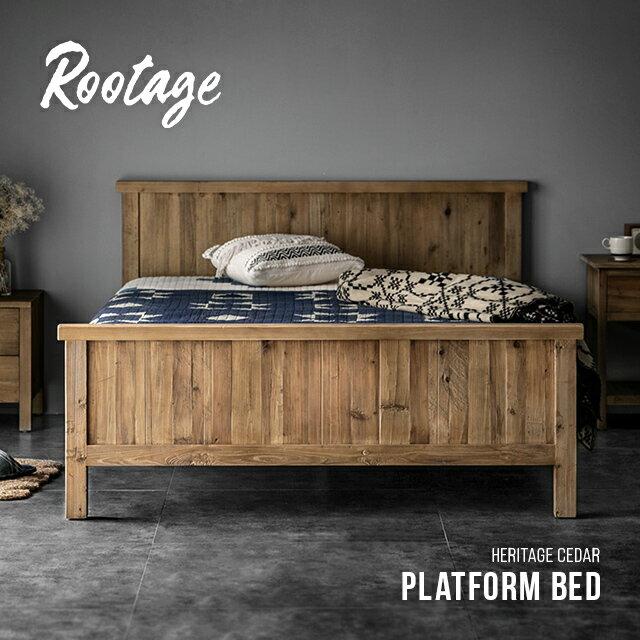 ベッド ベッドフレーム Rootage 送料無料