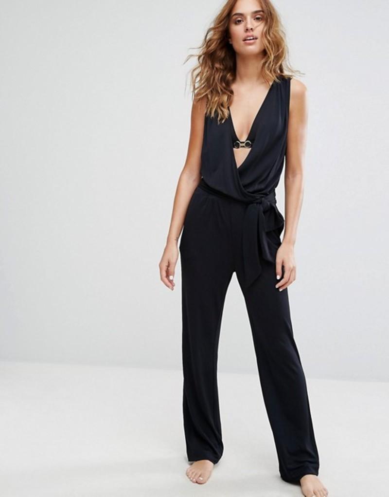 カルバンクライン レディース ワンピース トップス Calvin Klein Jumpsuit Black