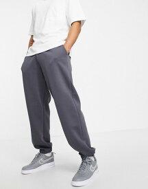 リバーアイランド メンズ カジュアルパンツ ボトムス River Island oversized sweatpants in slate gray Grey