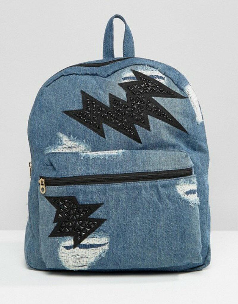 ジューシークチュール レディース バックパック・リュックサック バッグ Juicy Couture Pacific Denim Backpack Denim blue