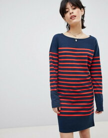 メゾンスコッチ レディース ワンピース トップス Maison Scotch Breton Stripe Sweat Dress 18 combo b