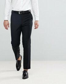 フレンチコネクション メンズ カジュアルパンツ ボトムス French Connection Slim Fit Tuxedo Pants Black