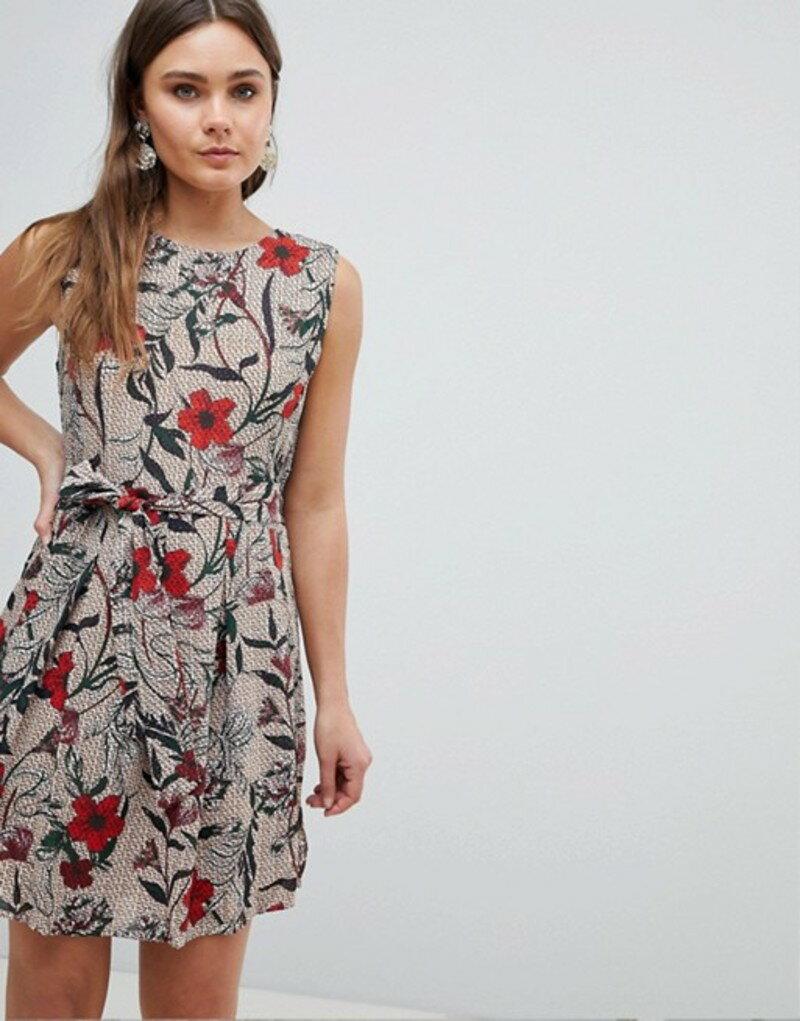 ユミキム レディース ワンピース トップス Yumi Antique Floral Pleated Dress Multi
