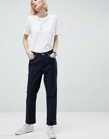 エイソス レディース デニムパンツ ボトムス ASOS WHITE Straight Leg Jeans Blue